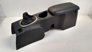 2003 Eclipse Coupe Center Floor Console Lid Armrest Manual Shift Dark Gray