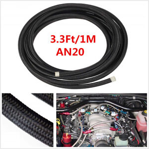 An20 20an 20 Transimission Oil Fuel Line Gas Radiator Nylon Steel Braided Hose