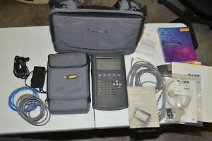 Fluke Networks 682 Enterprise Lanmeter With Accessories And Bag