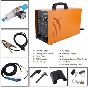 Dc Inverter 50amp Air Plasma Cutter Welding Welder Machine Cut 50 220v 110v Bn
