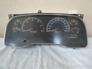 00 01 Dodge Ram 1500 2500 3500 At 8 0l Gas Speedometer Instrument Cluster Oem