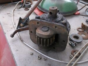 Allis Chalmers Wd Wd45 Tractor Pto Gearbox