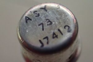 Asy 73 Germanium Npn Transistor Asy73 Lot 10x