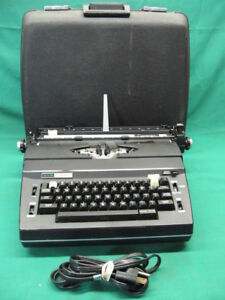 Vintage Black Sears Best Cassette Corrector Electric Typewriter Guaranteed