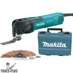 Makita Tm3010cx1 3 Amp Variable speed Multi tool Kit W Tool less Clamping New