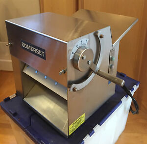 Cdr100 Somerset Dough Sheeter Pizza Dough Roller 10 Used But Excellent