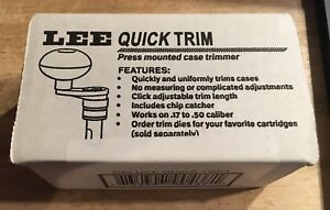 LEE DELUXE QUICK TRIM CASE TRIMMER * 90437 new unopened in box