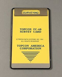 Topcon Fc 48 Survey Card Manual For Hp 48sx Calculator