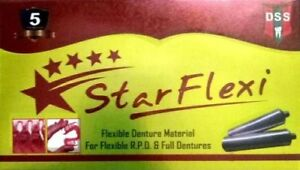 Starflexi Ridge Brown Material For Flexible Partial Dentures box Of 14pcs