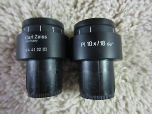 Zeiss Eyepieces paired