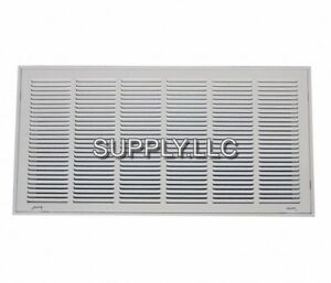 Filter Return Vent Cover 14 X 30 Duct Size White Air Grille Ceiling Wall