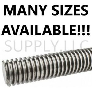 1 5 X 36 Inch 3 Foot And 1 5 X 72 Inch 6 Foot Acme Threaded Rod
