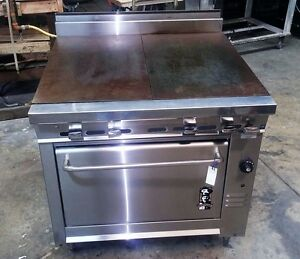 Montague Range Model 136 9ase Even Heat Tops With Standard Oven