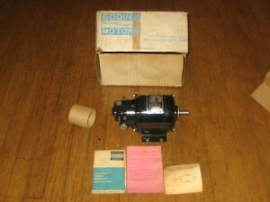 Nos Bodine Electric Company Ac Gear Motor Nse 11r 115 Vac 40 Rpm 3 8 In
