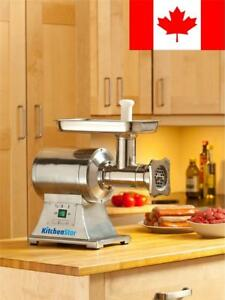 True 1hp Commercial Meat Grinder Electric No 12 Etl