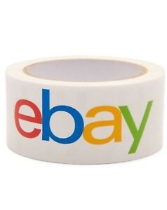 Lot Multi pack Ebay Brand Packaging Shipping Tape 2 X 75 Yards 2mil Thickness