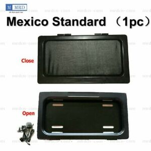 1 X Mexico Device Stealth Curtain Cover Shutter License Plate Hide Away Remote