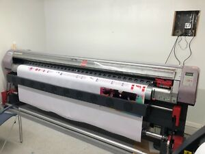 Mimaki Jv3 250sp With Bulk Ink System Excellent Condition