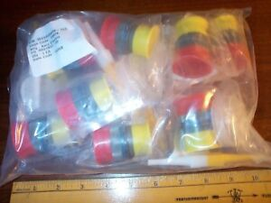 Lot Of 8 Aero Electric Ms3456w20 Pin Connectors In Sealed Bag 8 Total Pieces