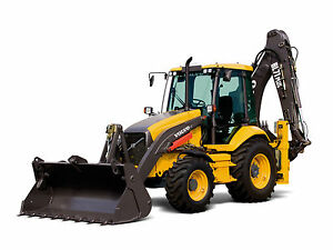 Volvo Bl71 Plus Backhoe Loader Service Shop Repair Manual