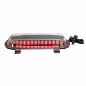 Led Mini lightbar Magnet Mount Able 2 Sho me 11 1200r08 Red Warning Light