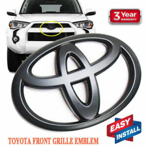 Matte Black Front Grill Vinyl Decal For Toyota Tacoma New Usa