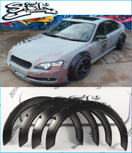 Subaru Legacy Iv 2005 2007 Wide Body Kit Abs Plastic Fender Flares Arches Set