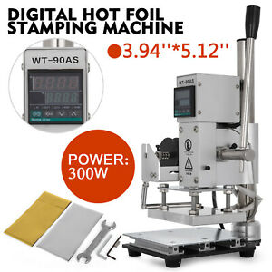 10 13 Cm Digital Hot Foil Stamping Machine Embossing Bracket With Holder 110v