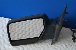 2007 2013 Ford Expedition Xlt Driver Left Side View Door Mirror Black Oem