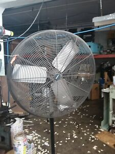 Industrial Pedestal Fan 30in Fasco P30 1 4hp 1100 Rpm