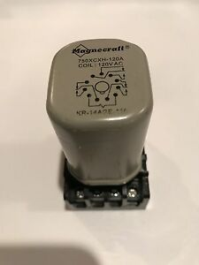 Magnecraft 750xcxh 120a Hermetically sealed Relay 3pdt 120vac Coil 11 pin Base