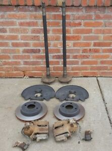 4 Lug Rear Cobra Disc Brake Kit Ford Mustang Gt 1993