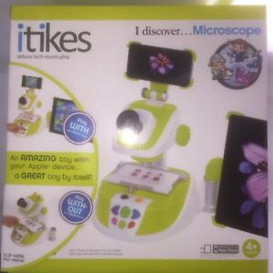 Itikes Microscope Educational Children s Kids Toy Game