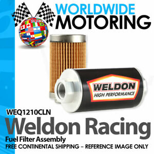 Weq1210cln Efi Carbureted 12orb 10 Micron Fuel Filter By Weldon Racing