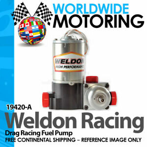 19420 A High Performance Drag Racing Only Fuel Pump By Weldon Racing
