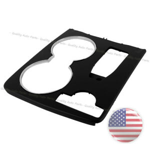 Black Console Cup Holder Trim Cover 2046800307911 For Mercedes C Class W204 C300