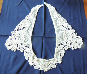 Antique French Lace Collar Early 1900 24 Long
