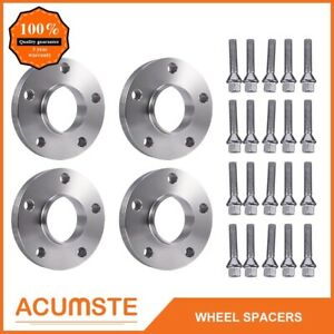 For Bmw Hub Centric Wheel Spacers Staggered Kit 5x120 2 15mm 2 20mm bolts