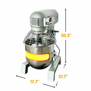 Pick up Gear Driven Bakery Blender 2 4hp 30qt Commercial Dough Food Mixer 3speed