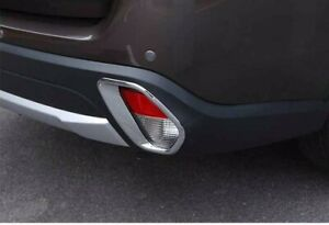 For Mitsubishi Outlander 2016 2018 Abs Chrome Trim Cover Rear Frog Light Lamp