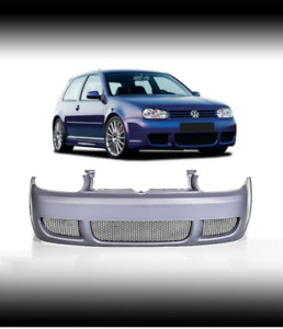 Front Bumper R32 Type Look Sport Abs Plastic For Vw Golf 4 1j Iv Mk4 97 04