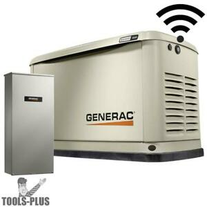 Generac 70361 Standby Generator 16kw Guardian 100a W Wi fi Transfer Switch New