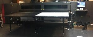 Vutek Qs3 Pro uv Hybrid Flatbed Printer with Ultra Drop Heads 2015