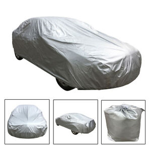 190t Polyester Universal Uv Water Raindust Proof Outdoor Car Cover Size 3xl