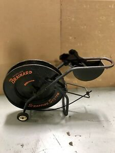 Used Brainard Steel Strapping Cart