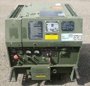 Military Fermont Mep 831a 3kw Diesel Quiet Generator Genset With New Battery