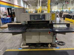 1998 Challenge 370 Xg 37 Programmable Paper Cutter
