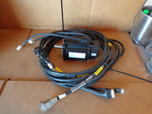Emerson Xvm 8017 tons 0000 Servo Motor W Connecting Cables