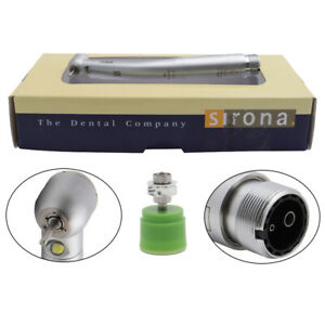 Sirona T3 Racer Dental High Speed Handpiece Led Fiber Optic Torque Push 2 4holes
