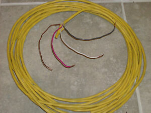 12 3 W ground Romex Indoor Electrical Wire 75 Ft all Lenghts Available
